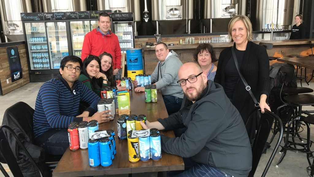 Side Launch Brewing Company Tour in Collingwood