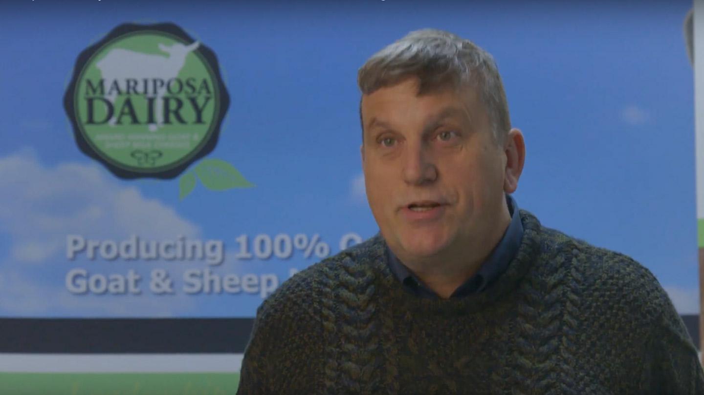 Bruce Vandenberg of Mariiposa Dairy
